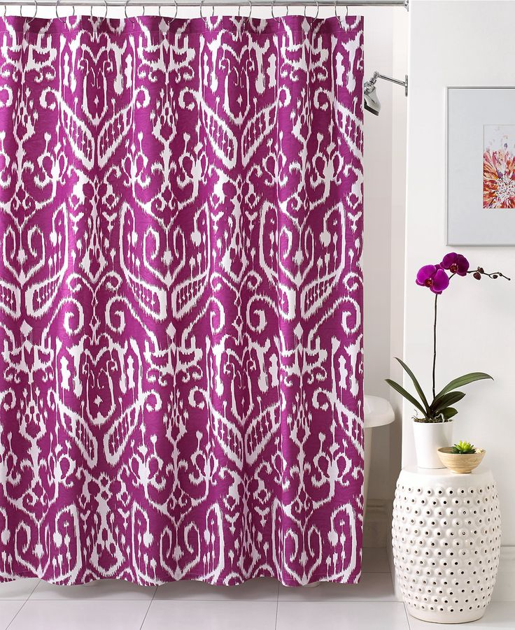 Best Shower Curtains Images On Pinterest Bath Shower Fabric - Bath curtain sets for small bathroom ideas
