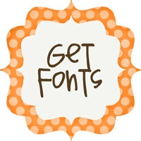 "Link to a page with lots and lots of cute fonts for download. Think I'm going to submit some of MY work to turn into a ""Pea HollyB"" Font!!!"