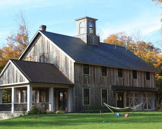 17 best ideas about barn house plans on pinterest barn for Houses with barns