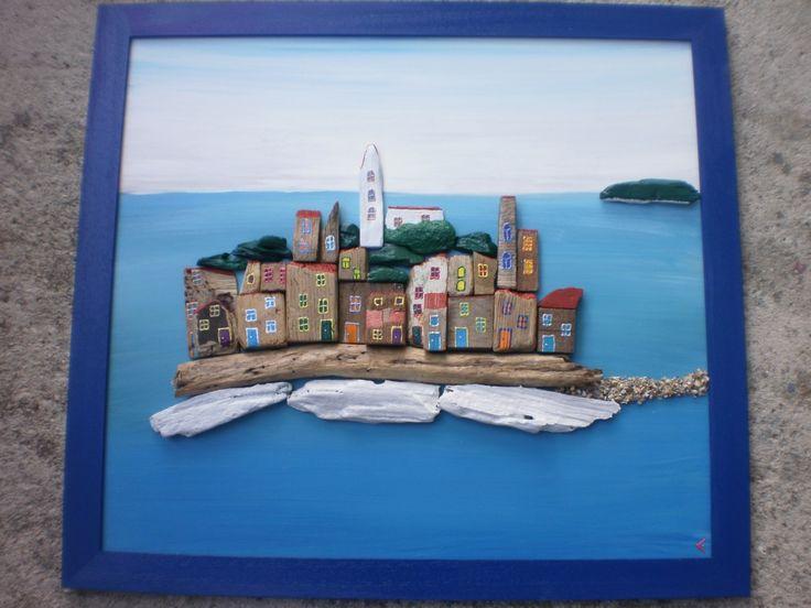 Primosten | by Adriatic driftwood by Lucija