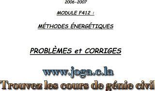 RDM - EXERCICES | cours génie civil WWW.JOGA.C.LA - cours, exercices corrigés et videos