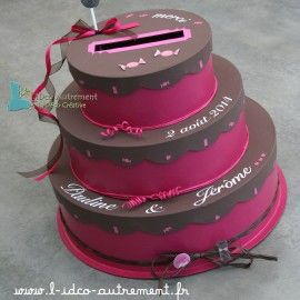 17 best images about urnes on pinterest petite piscine pale pink weddings and champagne - Urne mariage originale ...