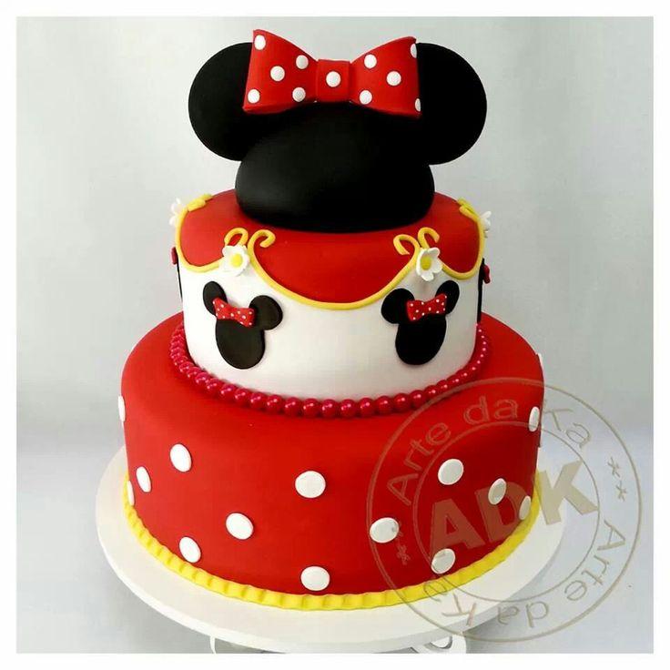 Cake Mickey Mouse Pinterest