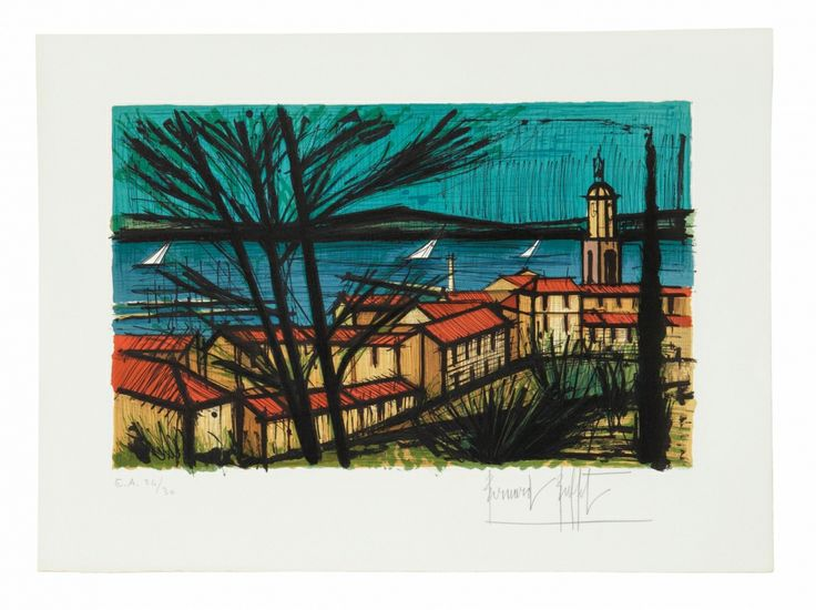 17 Best Images About Artprecium Bernard Buffet On