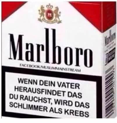 Deshalb raucht nicht ihr Idioten!