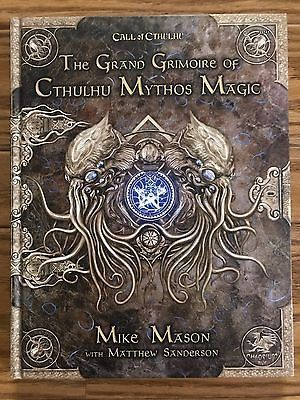Horror 2546: Call Of Cthulhu: The Grand Grimoire Of Cthulhu Mythos Magic Hardcover -> BUY IT NOW ONLY: $31.99 on eBay!