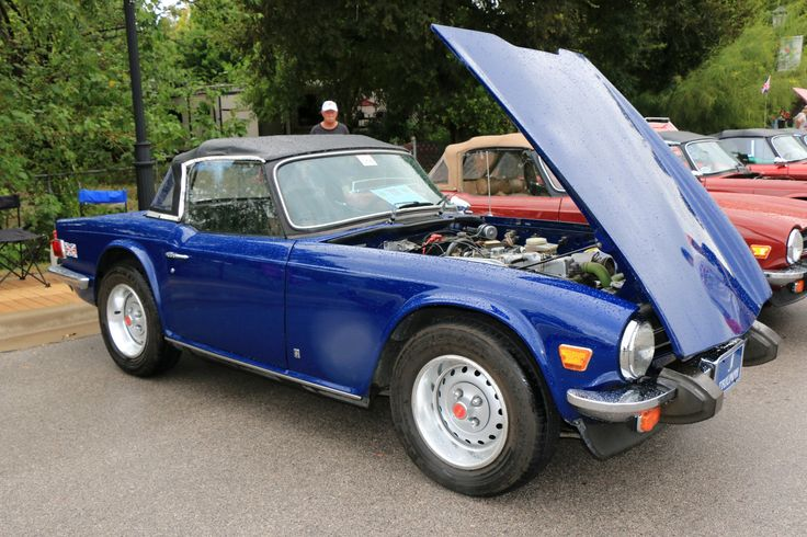 1973 Triumph TR6, as shown at the 2016 Texas All British Car Days event in Round Rock, TX, USA.