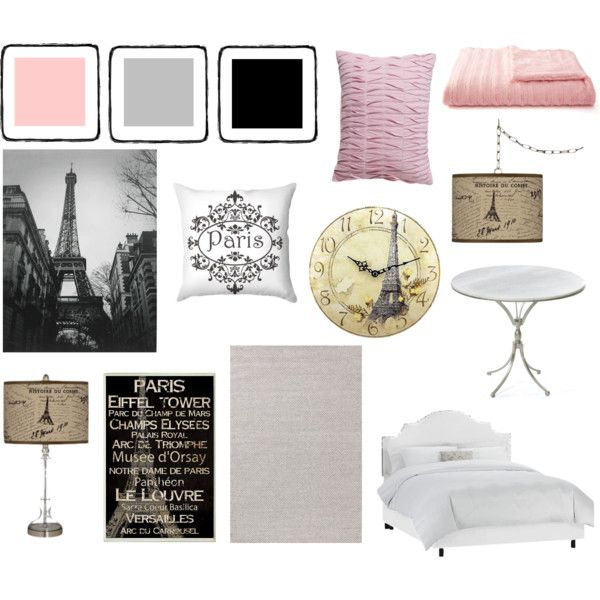 """""""Paris Inspired Bedroom"""" by pet387 on Polyvore"""