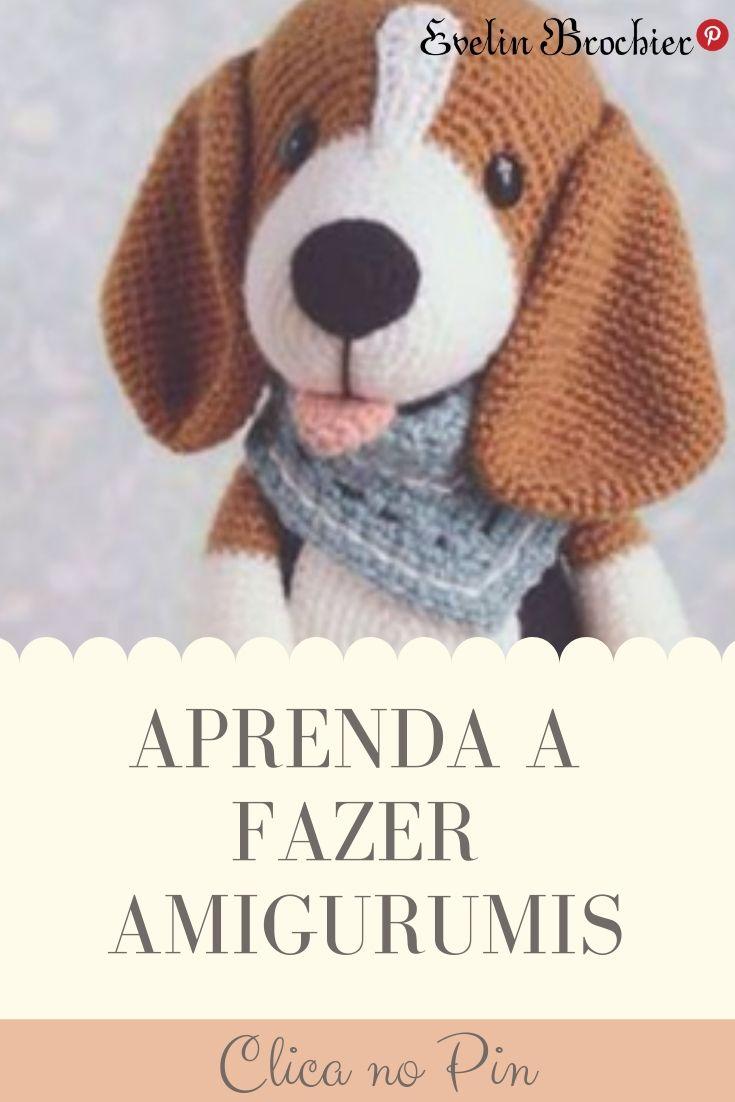 Cachorro de Amigurumi (Poodle). Como Fazer e Receitas Grátis para ... | 1102x735
