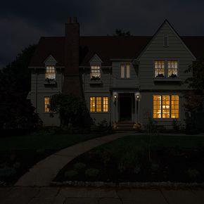 Cara membuat efek cahaya lampu dengan photoshop.