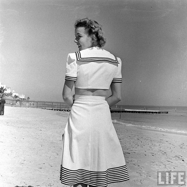 Miami Beach Fashion 1940