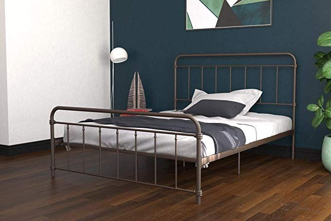 Dhp Winston Metal Bed Frame Multifunctional Piece With Adjustable