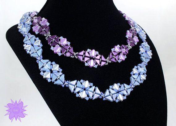 Skyline Collar Necklace Tutorial by DesertStarCreations on Etsy