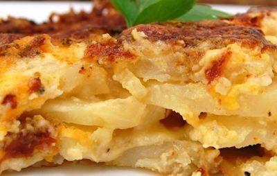Φτιάξτε το πιο γευστικό σουφλέ με μανιτάρια, πατάτες και γιαούρτι | Γόβα Στιλέτο