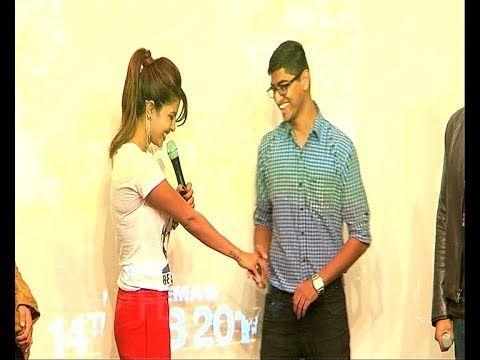 Priyanka Chopra's biggest fan impressing her with a lovely shayari.