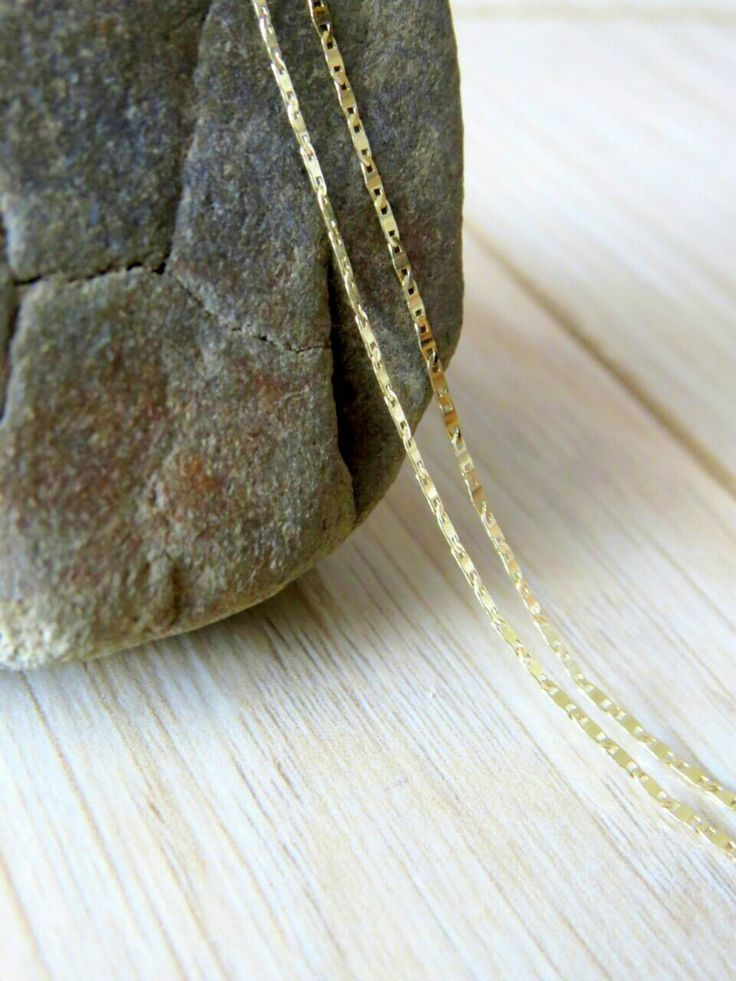 Złoty łańcuszek Gold necklace