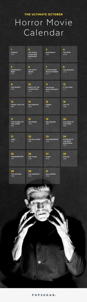 October Horror Movie Checklist | POPSUGAR Entertainment
