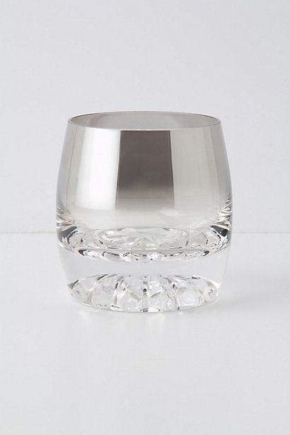 Gin Rummy Glass #anthropologie