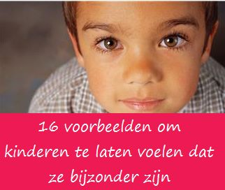 Je bent bijzonder - KlasvanjufLinda.nl - vol met leuke lesideeën en lesidee