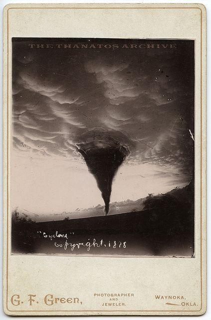 Waynoka, Oklahoma tornado.  May 17, 1898.