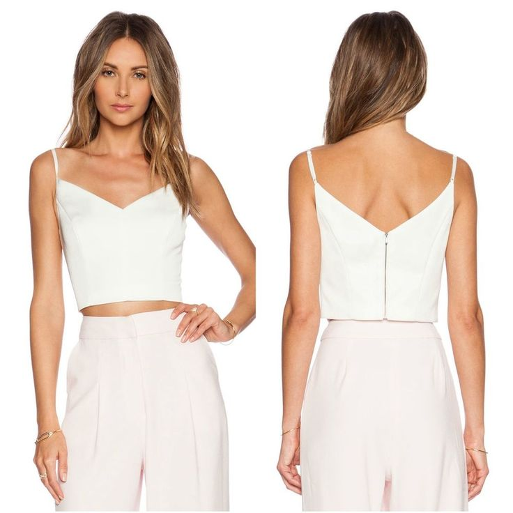 NEW Keepsake none the wiser top ivory Size M medium BNKR #croptop #ivory #white #keepsake #australianfashionlabel #ausfashionlabel #bnkr #fashionbunker #new #forsale #ebay #party #croptop #clubwear #sexy #gigihadid #davidjones #theiconic #asos #myer #cameo #finderskeepers #jaguar #thefifth