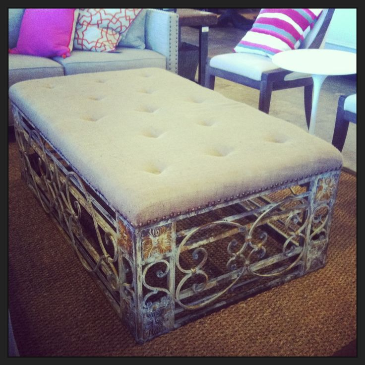 1000+ Ideas About Ottoman Coffee Tables On Pinterest