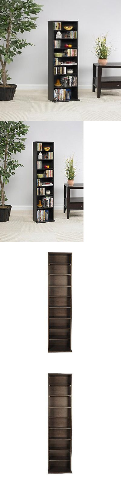 CD and Video Racks 22653: New Multimedia Storage Cd Organizer Dvd Tower Rack Cabinet Movie Shelf Stand -> BUY IT NOW ONLY: $37.43 on eBay!
