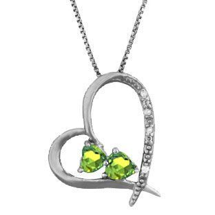 Nice Gold rings with diamonds Diamond 2-Stone Peridot August Stone Heart Pendant Black Rhod White Gold Gemolog... Check more at http://24store.ml/fashion/gold-rings-with-diamonds-diamond-2-stone-peridot-august-stone-heart-pendant-black-rhod-white-gold-gemolog/