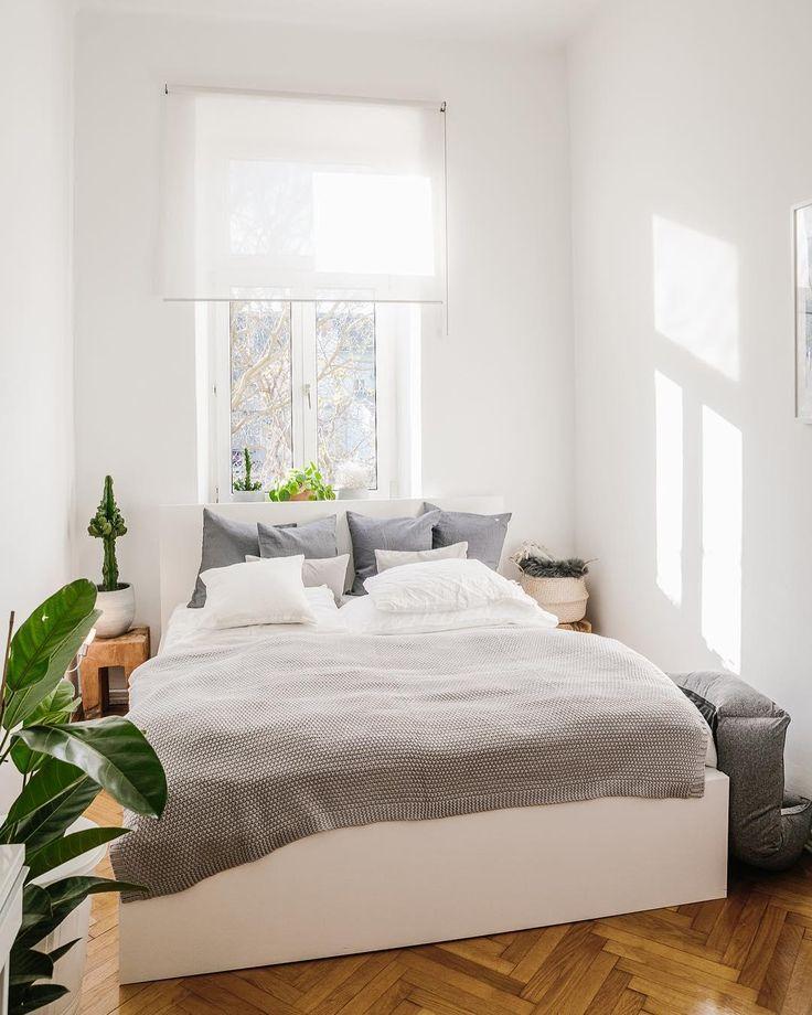baumwollsatin bettwsche willow - Schlafzimmerideen Des Mannes Grau