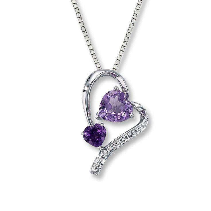 amethyst stone necklace - photo #48