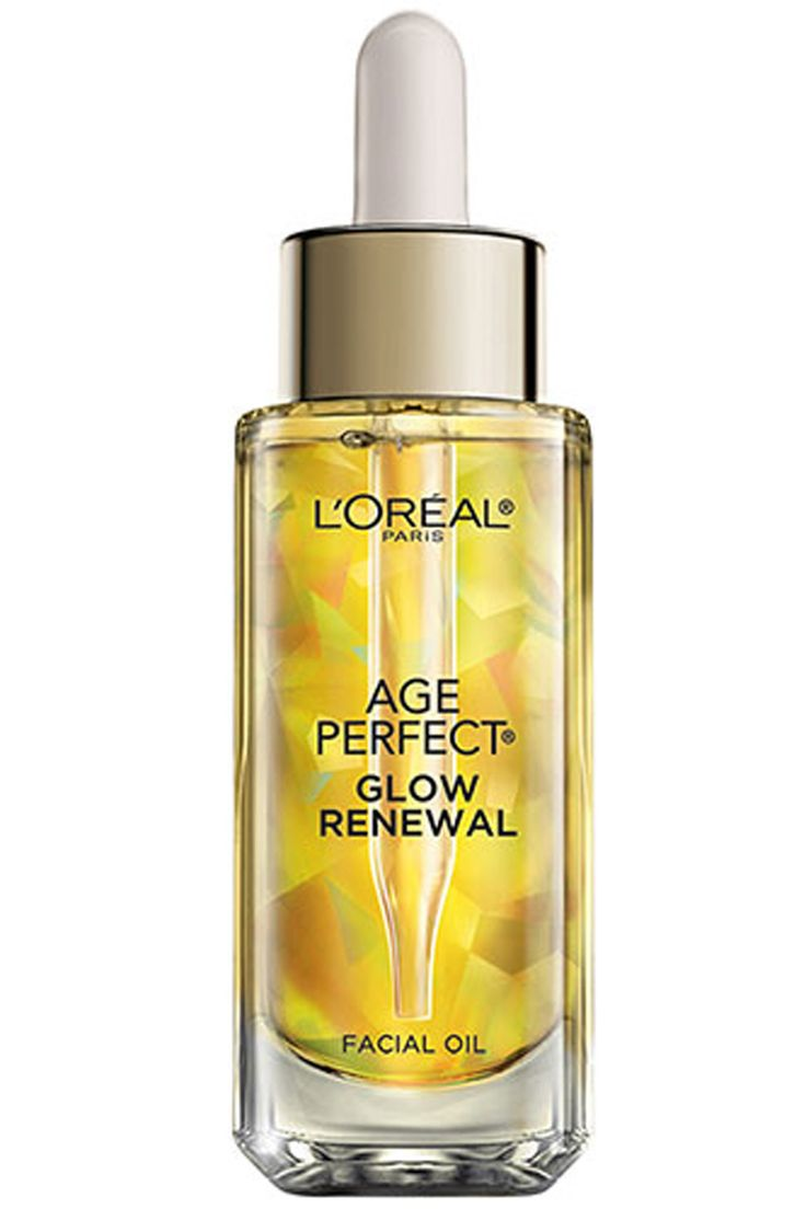 It replenishes and restores dull, dry skin with eight essential oils, makes your skin supple and soft, and it has a lovely floral fragrance. Sound luxurious? It is. And you'll find it at your local drugstore.  L'Oréal Paris Age Perfect Glow Renewal Facial Oil, $24.99.