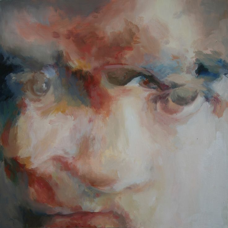 "Saatchi Online Artist: Marina Ross; Oil, Painting ""Stare"": Oil Paintings, Art Inspiration, Artsy Stuff, Painting Stare, Art Center, Marina Ross, Facemask Exhibit"