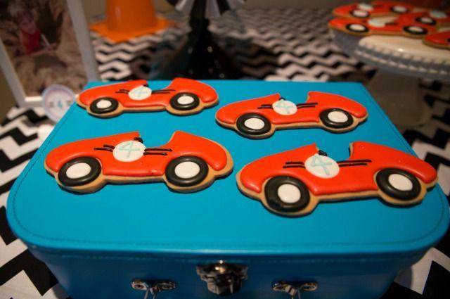 Anders Ruff Custom Designs, LLC: 4th Birthday Celebrated Vintage Race Car Style