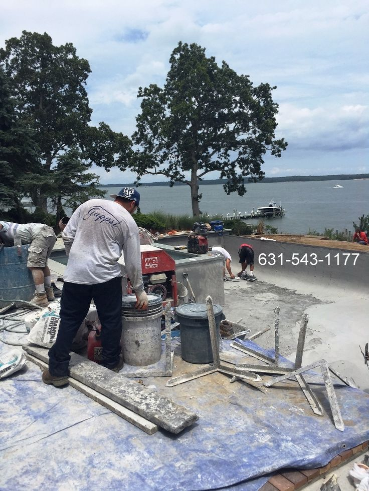 1000 ideas about gunite pool on pinterest pool designs pool spa and swimming pools backyard for Private swimming pools long island