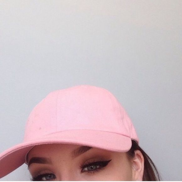 pink pastel hat Never worn. Pastel baseball cap. Price is firm unless bundled. Tagged as Brandy for visibility Brandy Melville Other