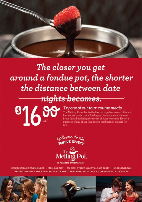 Locate the Augusta, GA Store Hours and Location for The Melting Pot and Current Coupons at our website. We have the up-to-date data about The Melting Pot opening and closing times and contact info. Find the Augusta, GA The Melting Pot Locations and browse The Melting Pot Online Coupons.