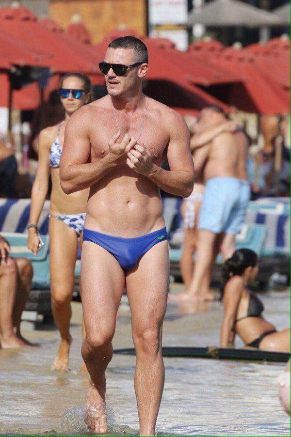 Luke Evans Latest Hot Photo