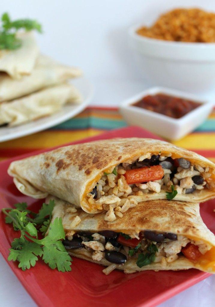 Crispy Southwest Chicken Wraps, Perfect for freezer on the go food too - A Spark of Creativity
