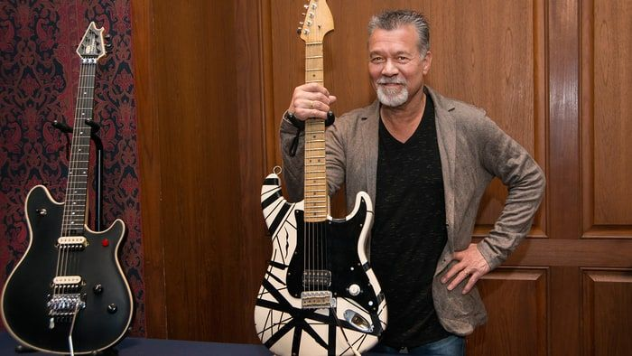 Eddie Van Halen shared his life story and gave a Van Halen update during a guest discussion at the Smithsonian.