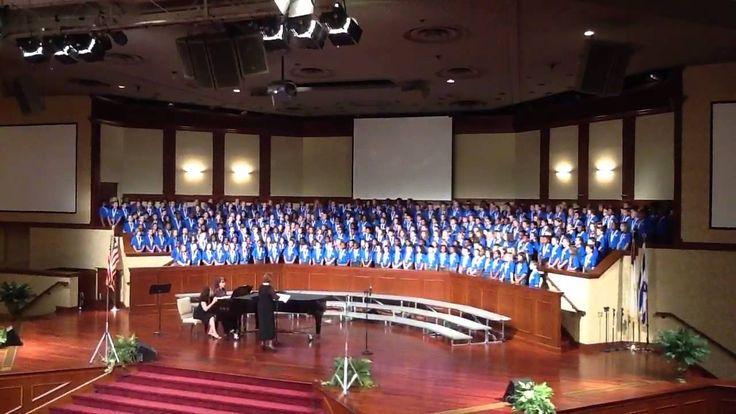 Artza Alinu - Jewish traditional song. The best elementary chorus ever. 49 schools, 240 boys and girls directed by Lu Ann Holden. 25 October 2012 @ Mt Paran North Church, Marietta, GA.