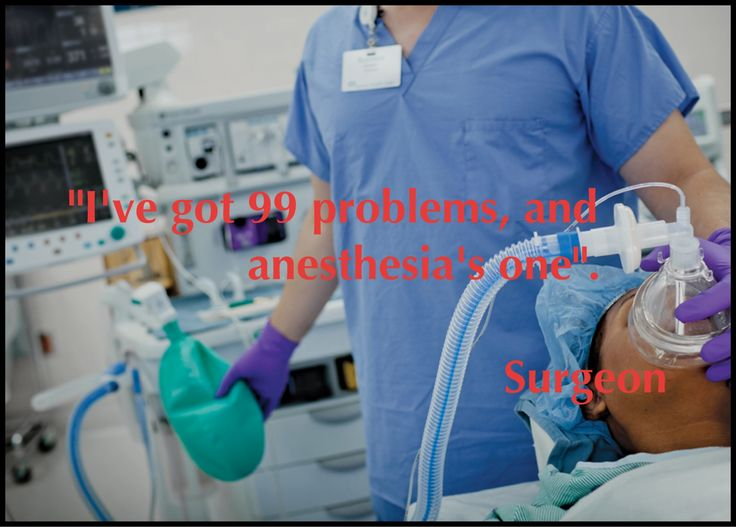 Anesthesia humor medical pinterest its always
