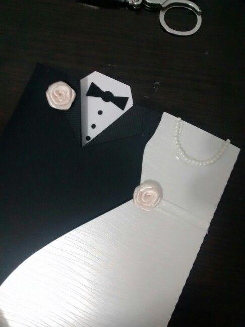 Tarjeta para matrimonio