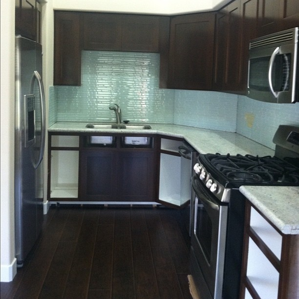 Dark Kitchen Cabinets With Glass Doors: 25 Best Images About Kitchen On Pinterest