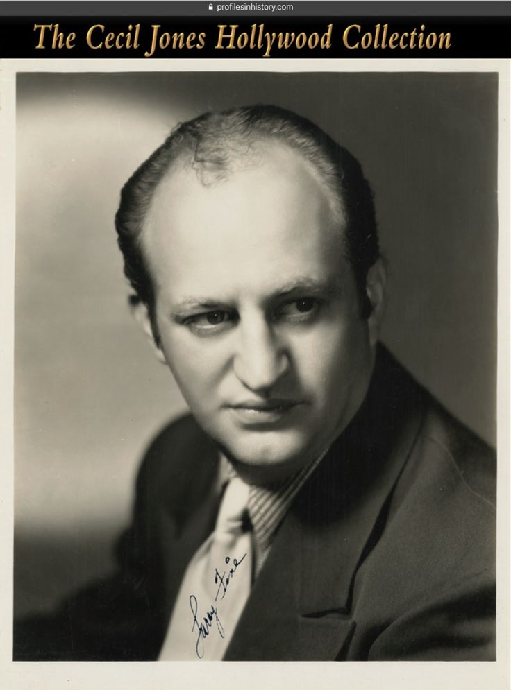 "Larry Fine - [The Three Stooges] Excessively rare signed photograph. (ca. 1930s) Vintage original gelatin silver ~8 x 10 in. photograph signed by Larry, ""Larry Fine""."