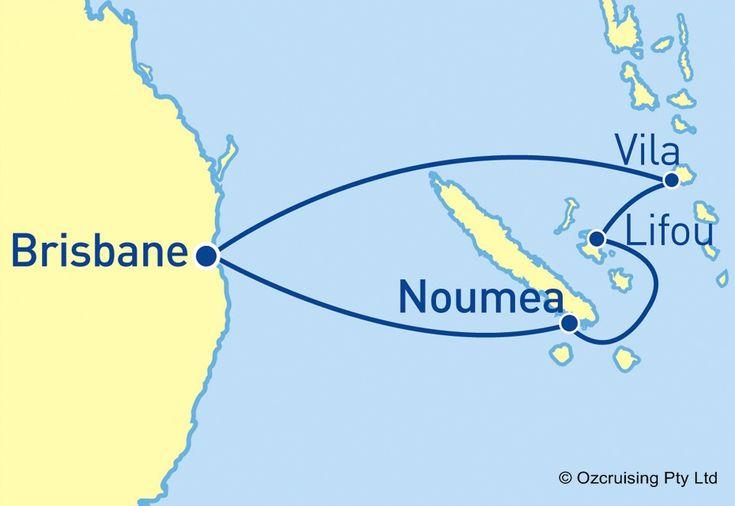 Pacific Dawn South Pacific Cruise - Ozcruising
