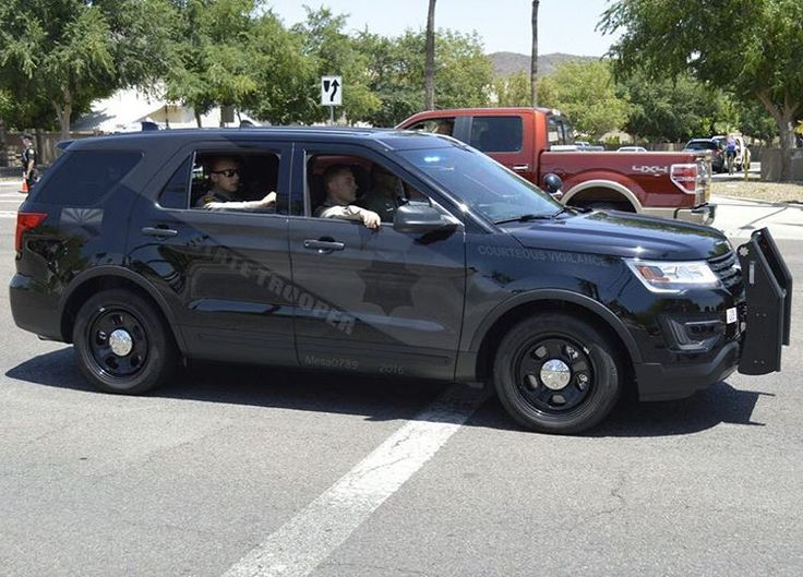 Arizona Dept Of Public Safety Ghost Ford Interceptor