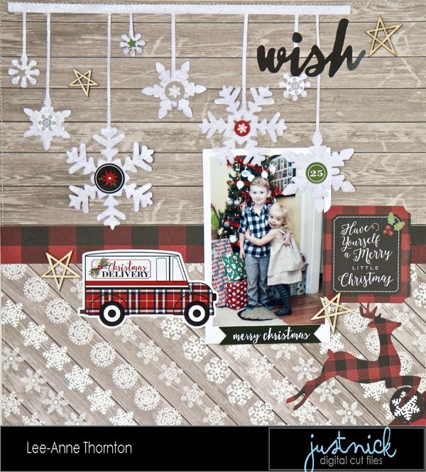 Wish - Carta Bella Paper - Christmas Delivery Collection