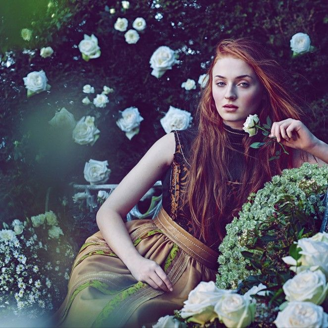 Sophie Turner for Town & Country Magazine Spring 2015