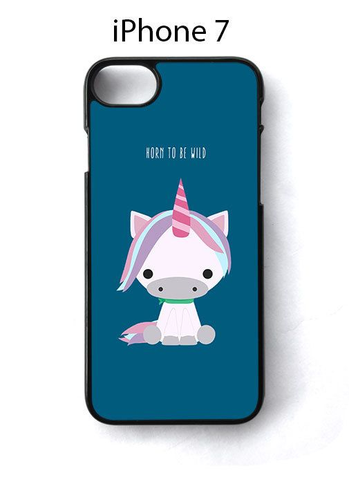Unicorn Horn TO Be Wild Sweet iPhone 7 Case Cover - Cases, Covers & Skins