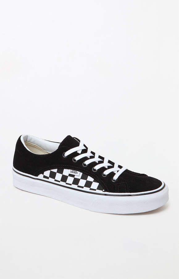 Vans Lampin Black \u0026 Checkerboard Shoes